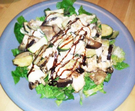 Rezept für Salat mit Feta