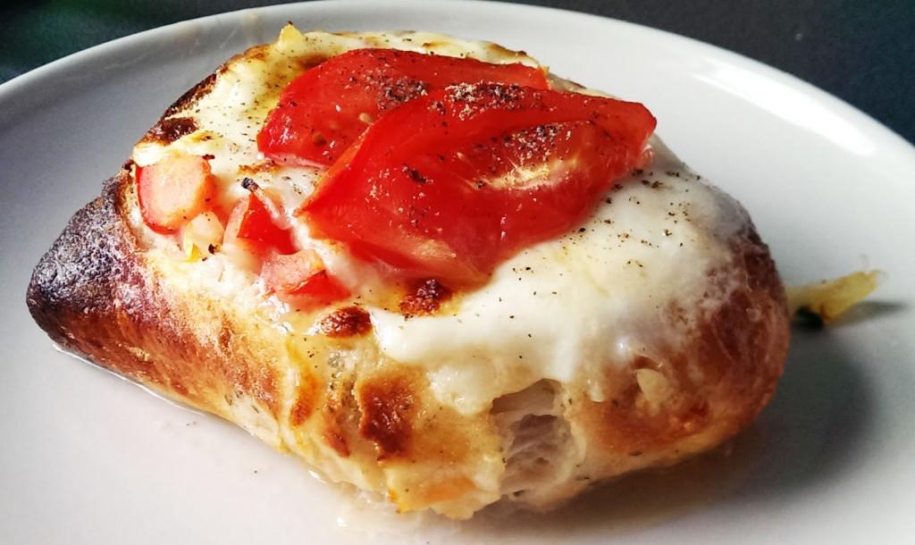 Brötchen mit extra viel Mozzarella