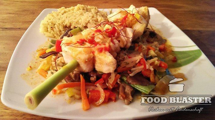 Fisch mit Chinagemüse