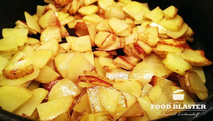 Kartoffeln gebraten