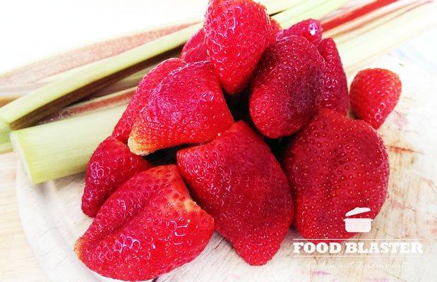Erdbeeren für Kompott