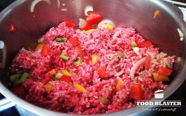 Fleisch für Lasagne