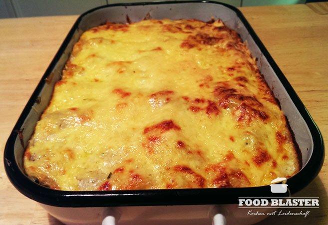 Lasagne im Ofen backen