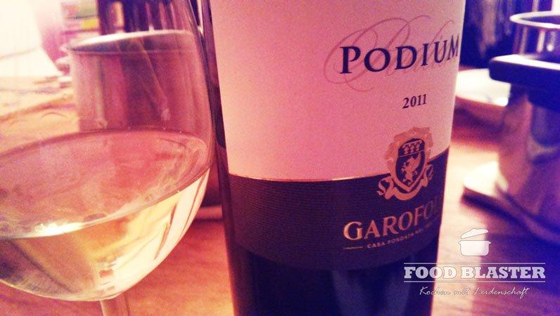 Leckerer Weißwein zum Essen