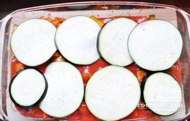 Cannelloni mit Auberginen