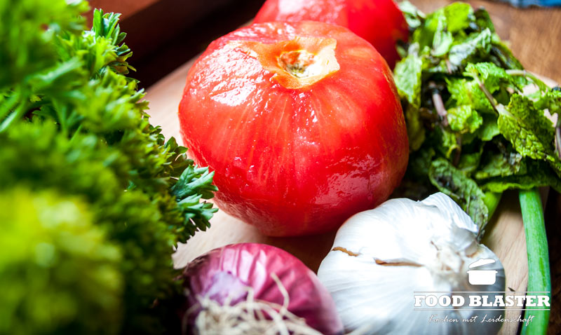 Gemüse für Cig Köfte