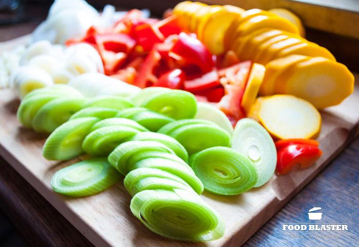 Gemüse für den Fisch