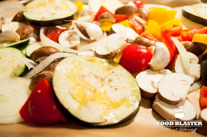 Gemüse im Ofen backen