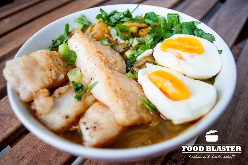 Scharfe Suppe mit Wels