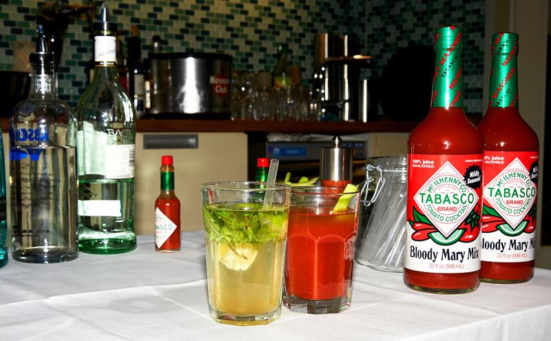 Cocktails mit Tabasco