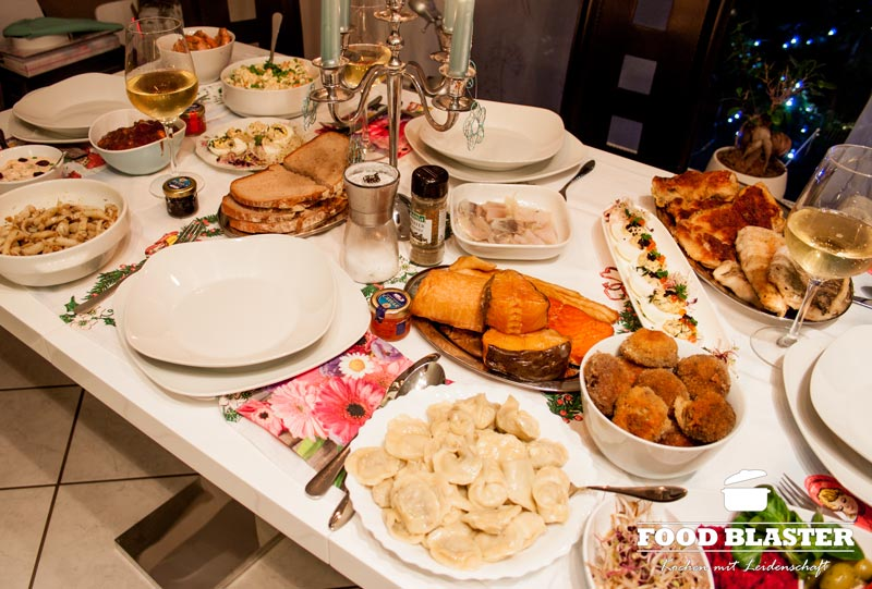 polnische weihnachten 12 gerichte und kein fleisch food blaster. Black Bedroom Furniture Sets. Home Design Ideas