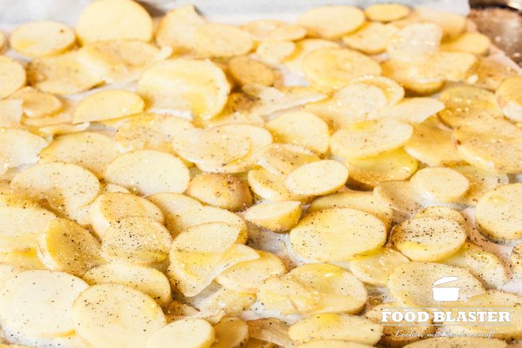 Kartoffeln gebacken