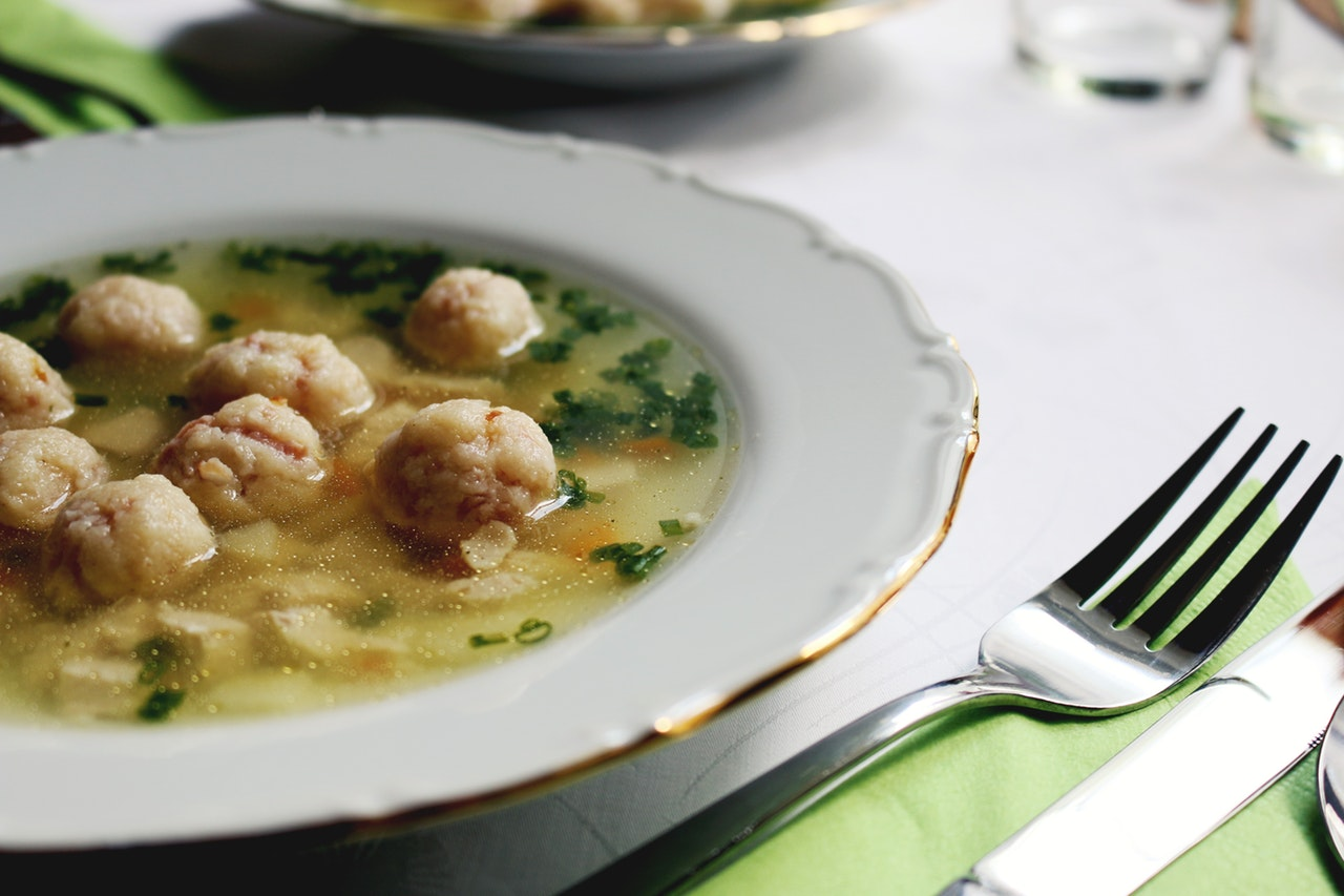 Suppen kochen in der kalten Jahreszeit
