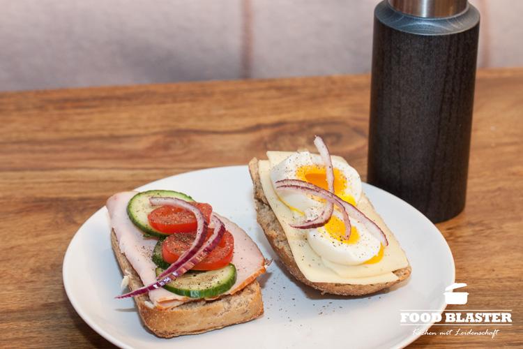 Frühstück und Pfeffer