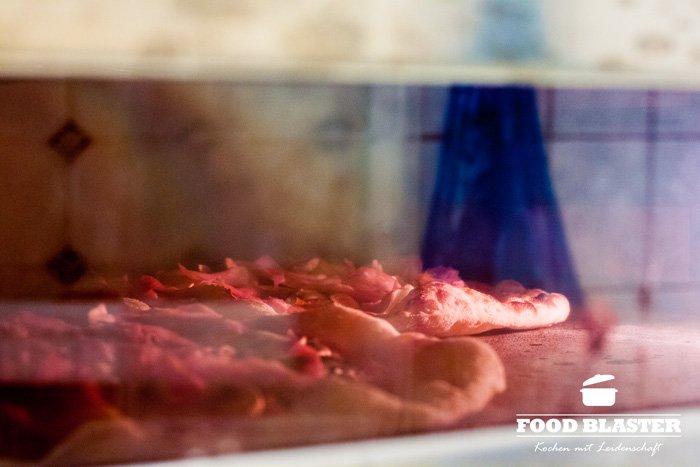 Pizzaofen in Pizzeria