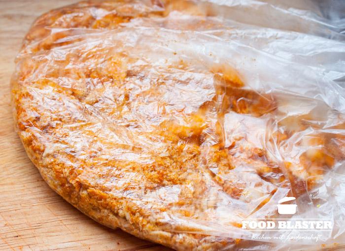 Reiscracker für die Fischpanade