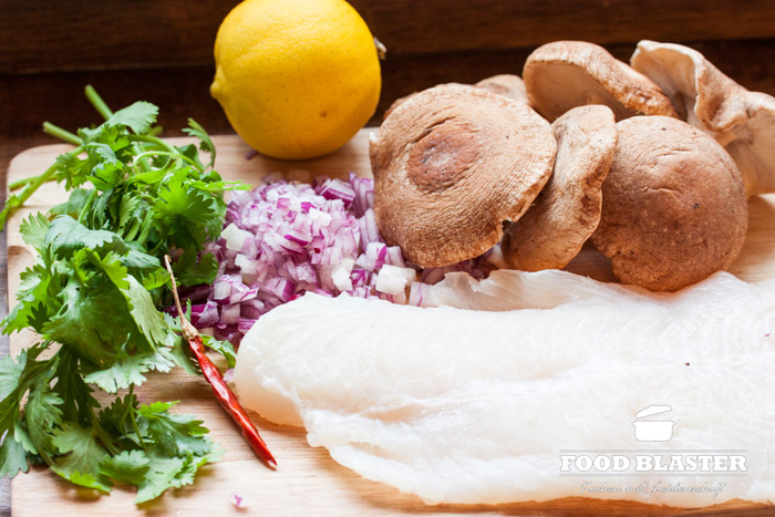 Gesundes Fischrezept mit Wels