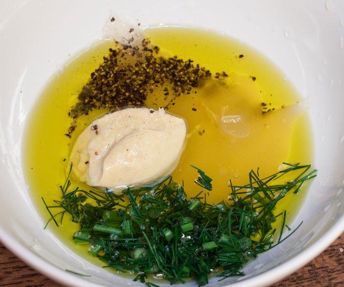 Honis-Senf für den Fisch