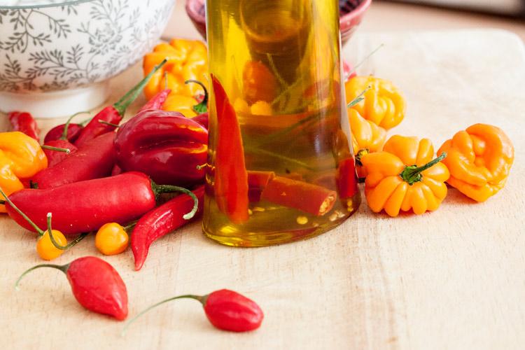 Beispiel: Chiliöl