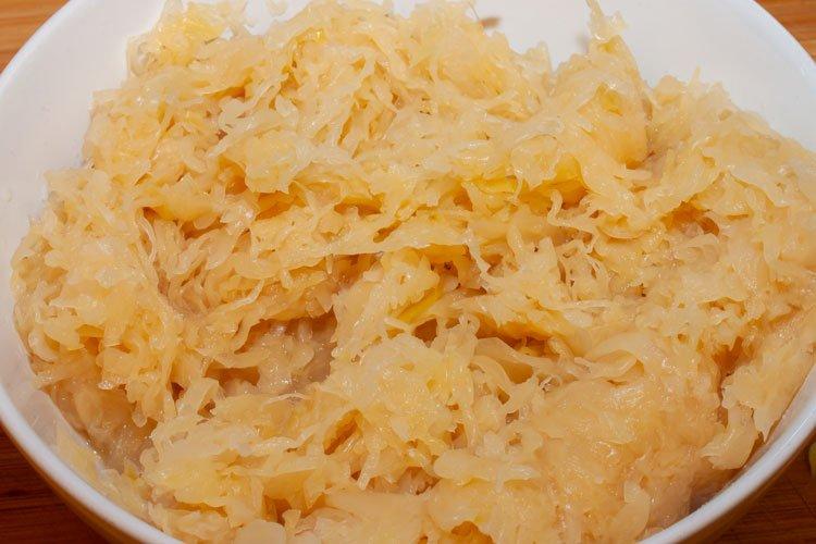 Foto: Sauerkraut für Bigos